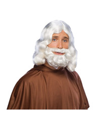 Bibilical Wig And Beard Set Costume Accessory