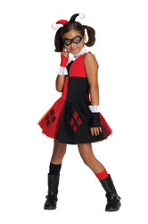 Batman Harley Quinn Tutu Costume Girls Medium