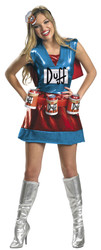 Duffwoman Drink Holder Women's Costume
