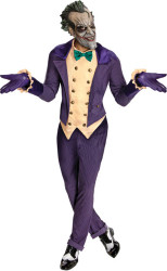 Batman Joker Costume with Mask Mens One Size