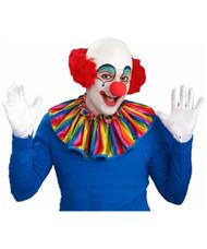 Bald Clown Head with Red Hair