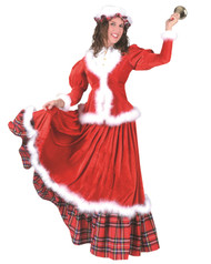 Christmas Holiday Honey Womens Costume