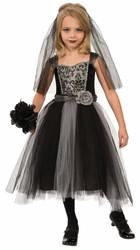 Kids Gothic Bride Costume