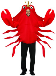 King Crab Costume Adult One Size
