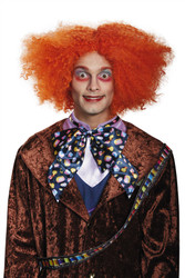 Alice Through The Looking Glass Mad Hatter Adult mens wig
