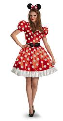 Red Minnie Classic Adult