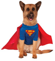 SUPERMAN PET super hero dog cat animal halloween costume funny clothes