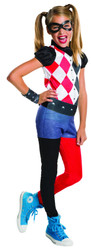 DC Superhero Harley Quinn girls kids costumes