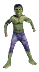 Avenger Age of Ultron Kids Boys Hulk Costume