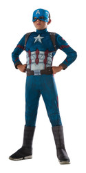 deluxe muscle Captain America Civil War Costume Boys Kids