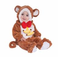 Monkey animal kids baby Halloween costume