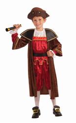 Christopher Columbus explorer kids boys Halloween costume