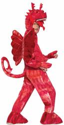 Red Dragon kids boys Halloween costume