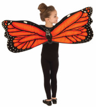orange Wings plush butterfly kids girls monarch Halloween costume
