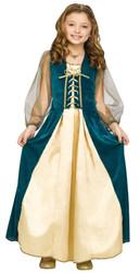 Juliet Gown Renaissance Girls Costume girls dress