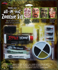 All in one Zombie Kit FX Prosthetic Makeup Kit