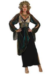MEDUSA greek goddess mythology snake serpent womens sexy halloween costume STD