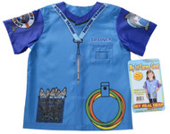 My 1st Career Gear Dolphin Trainer Shirt Kids Dress Up Ages 3-5