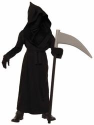 Grim Reaper Phantom Face Boys Halloween costume