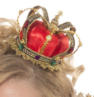Tiny Clip-in Queen Crown