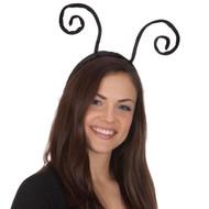 Black Velvet Insect Antenna Headband