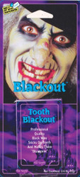 Tooth Black Out Wax Makeup - Hockey Player or Witch