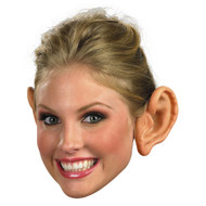 FAKE EARS medium adult troll goblin funny elf kids costume halloween accessory