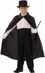 "36"" Child Magic Magician Cape kids boys Halloween costume"
