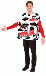 Milk tunic adult mens womens funny Halloween costume One Size Standard
