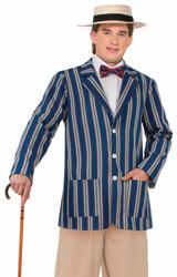Roaring 20s Boater Jacket adult mens Halloween costume
