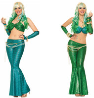 Mermaid Leggings adult womens Halloween costume accessory