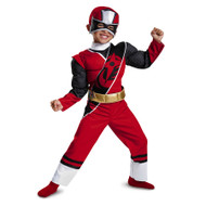 Red Ranger Ninja Steel Toddler Muscle