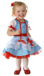 Wizard of OZ Dorothy Glitter Dress Costume
