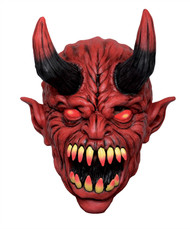 Devil overhead latex mask