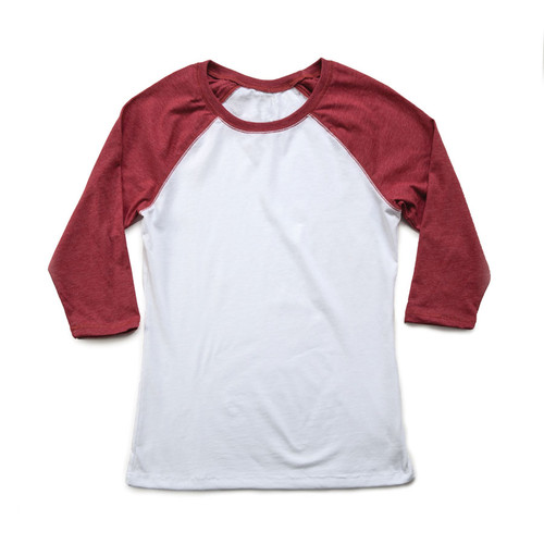 Women's 3/4 Raglan Sleeve Tee