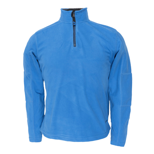Men's Micro Fleece Pullover - Cosmo Blue