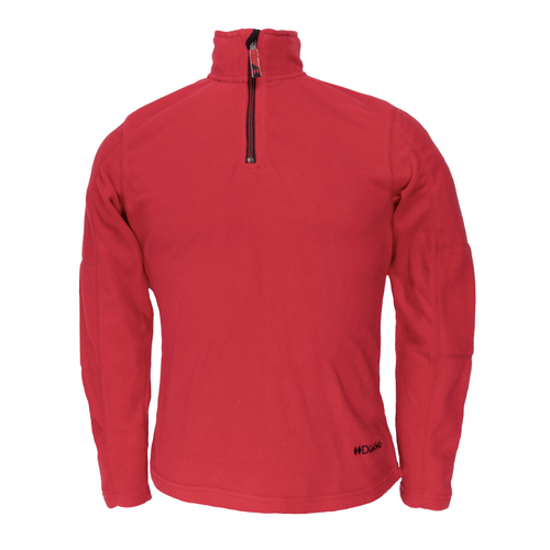 Men's Micro Fleece Pullover - Red