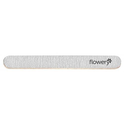Flowery Silver Streak Nail File Coarse/Medium Grit