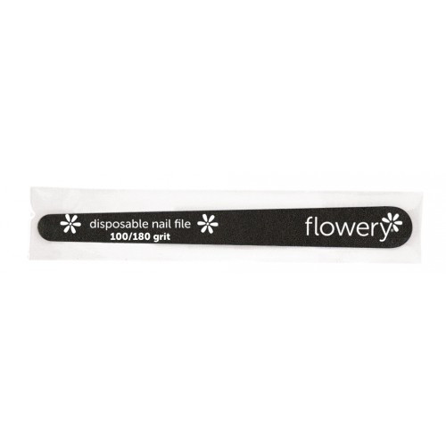 Flowery Disposable Tapered Nail File