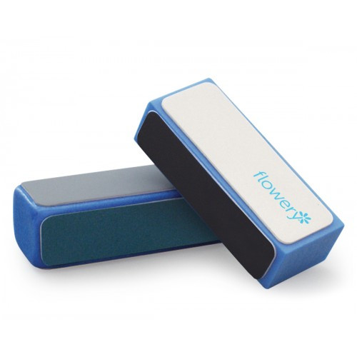 Flowery Blue Max 4-Way Nail Buffing Block