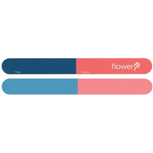 Flowery Blinky 4-Way Nail File Multi Grit For All Nail Types
