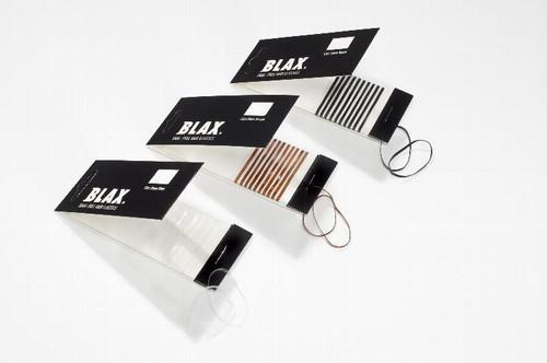 BLAX Snag Free Hair Elastics 2mm 12 Count