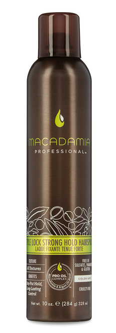 Macadamia Professional Style Lock Strong Hold Hairspray