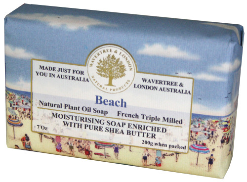 Wavertree & London Beach French Milled Australian Natural Soap