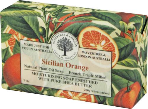 Wavertree & London Sicilian Orange French Milled Australian Natural Soap