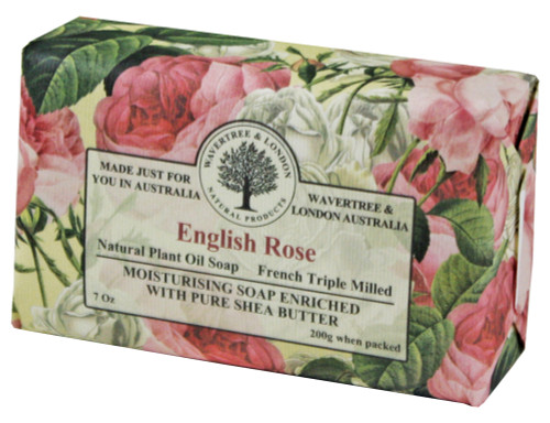 Wavertree & London English Rose French Milled Australian Natural Soap