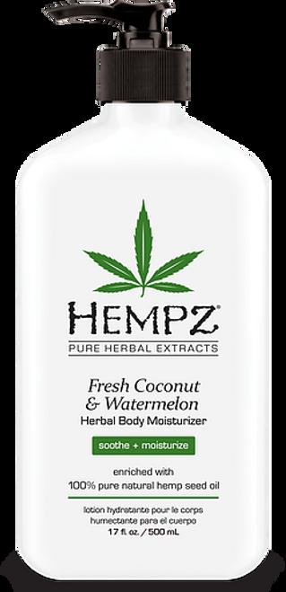 Hempz Fresh Coconut and Watermelon Herbal Body Moisturizer