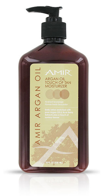 Amir Argan Oil Touch of Tan Moisturizer Lotion