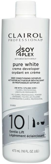clairol pure white 10 vol developer