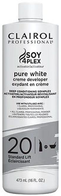 clairol purewhite 20 vol developer
